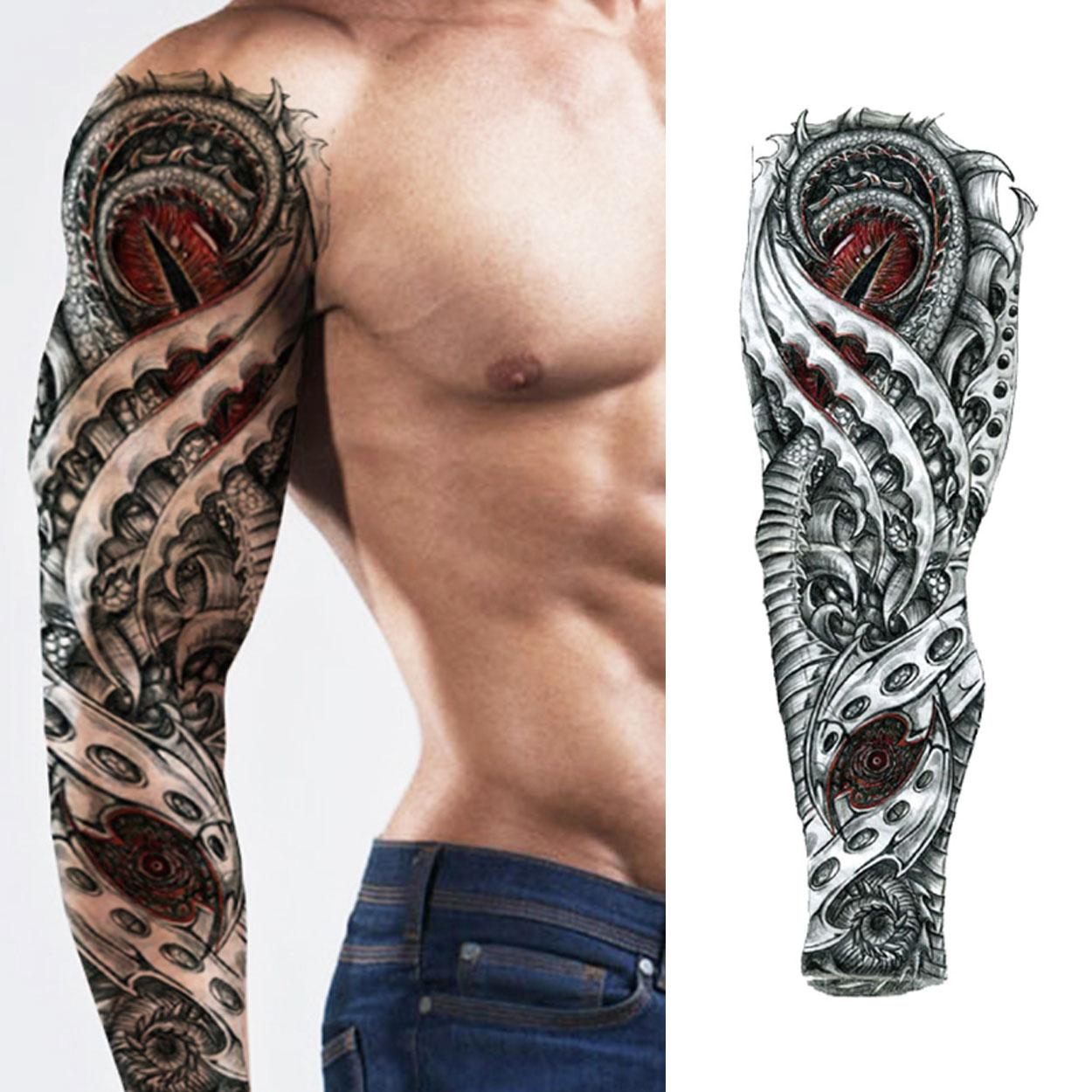 rockabilly tatueringar fejk